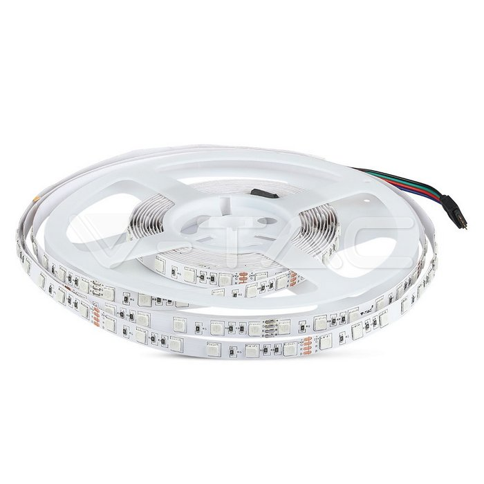 smd5050-60led//m RGB 5mt ip65 spool LED strip Strip V-Tac 12v 10.8w//m