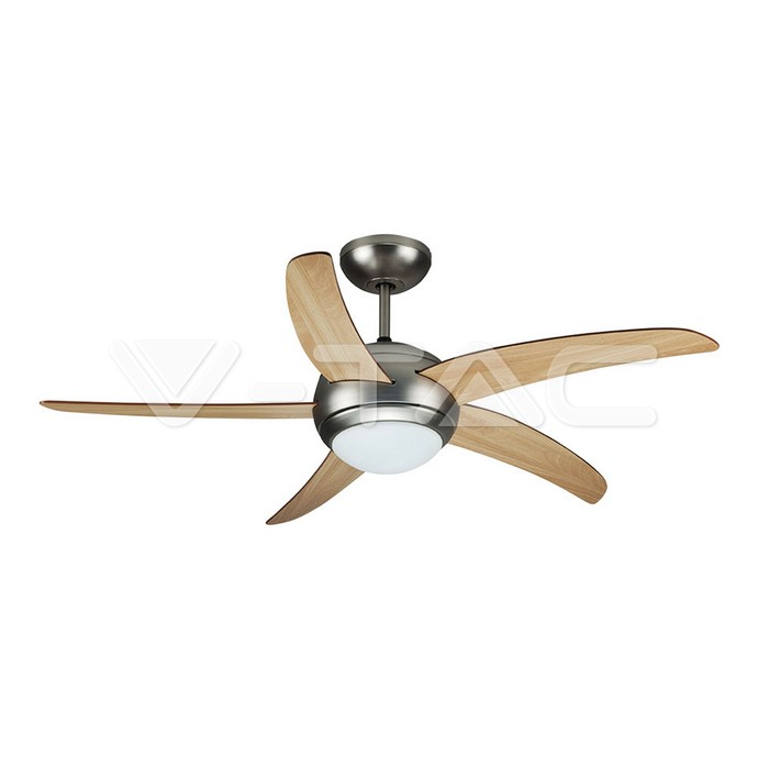 Fans 2 X E27 Led Ceiling Fan Light Remote Control 5 Blades